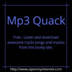 MP3 Quack - How to Download MP3
